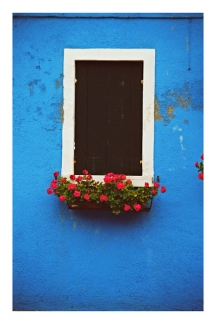 Blue Window in Burano